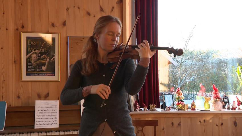 Italiensk 1700 Tals Violin Til Randers Kammerorkester Dmf Aarhus